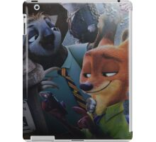 bunny fox sloth  iPad Case/Skin