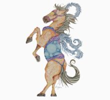 The Circus Horse One Piece - Short Sleeve