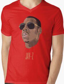 Jay Z Mens V-Neck T-Shirt