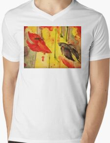 Rumble in the Jungle Mens V-Neck T-Shirt