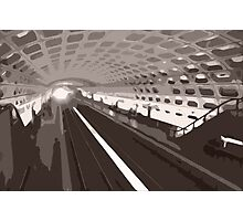 Metro abstraction Photographic Print