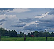 Land and Sky Photographic Print