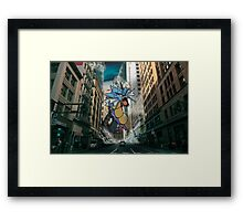 Gyarados San Franciso Invasion Framed Print