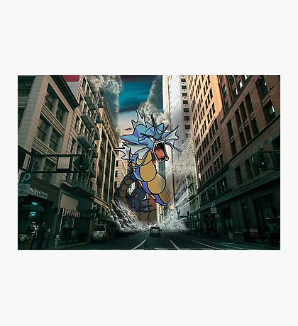 Gyarados San Franciso Invasion Photographic Print