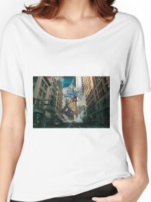 Gyarados San Franciso Invasion Women's Relaxed Fit T-Shirt