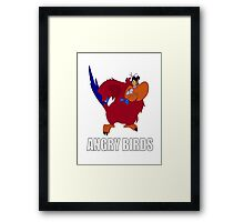 Angry Birds Framed Print
