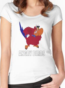 Angry Birds Women's Fitted Scoop T-Shirt