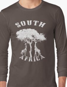 SOUTH AFRICA (GIRAFFE) Long Sleeve T-Shirt