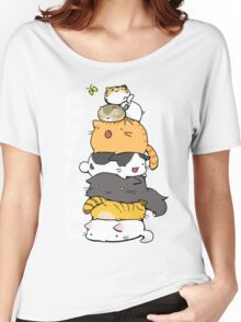Cat Tower Women's Relaxed Fit T-Shirt