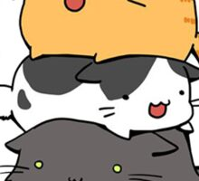Cat Tower Sticker