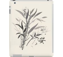 Bamboo Garden With Tranquility Symbol iPad Case/Skin