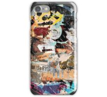 1990 : 25 : Mad Man Misery Galleries  iPhone Case/Skin