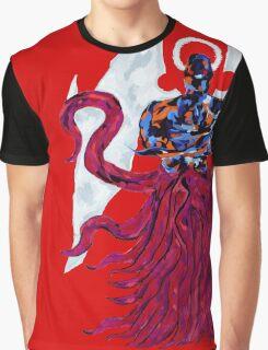 Dark Creator Halo - Red Graphic T-Shirt