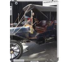 Vintage 1909 Cadillac Model 30, New York City iPad Case/Skin