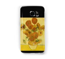 'Still Life with Sunflowers' by Vincent Van Gogh (Reproduction) Samsung Galaxy Case/Skin
