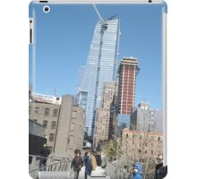 Hudson Yards Skyscraper, View from High Line, New York City iPad Case/Skin