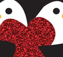 Penguin Love Sticker