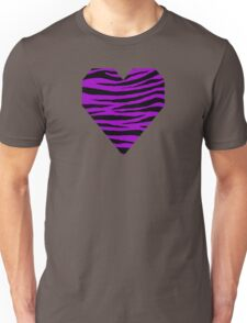 0555 Purple (Munsell) Tiger Unisex T-Shirt