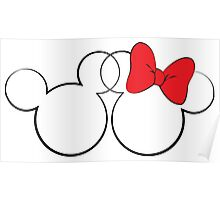 Minnie and Mickey Poster