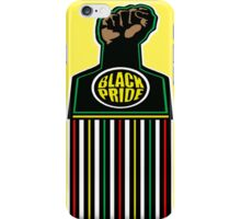 BLACK FIST, BLACK PRIDE iPhone Case/Skin