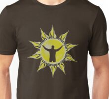 LEMON YELLOW SUN - ARMS RAISED IN A V (JEREMY - PEARL, JAM INSPIRED T) Unisex T-Shirt