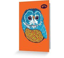 Hoo Greeting Card