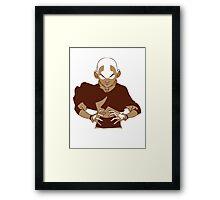 Avatar the Last Airbender - Aang  Framed Print