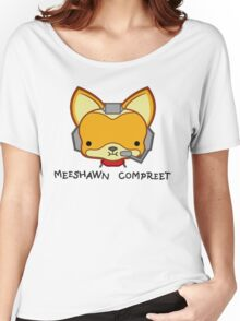 Meeshawn Compreet Fox Women's Relaxed Fit T-Shirt