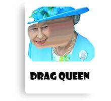 Elizabeth Drag queen Canvas Print