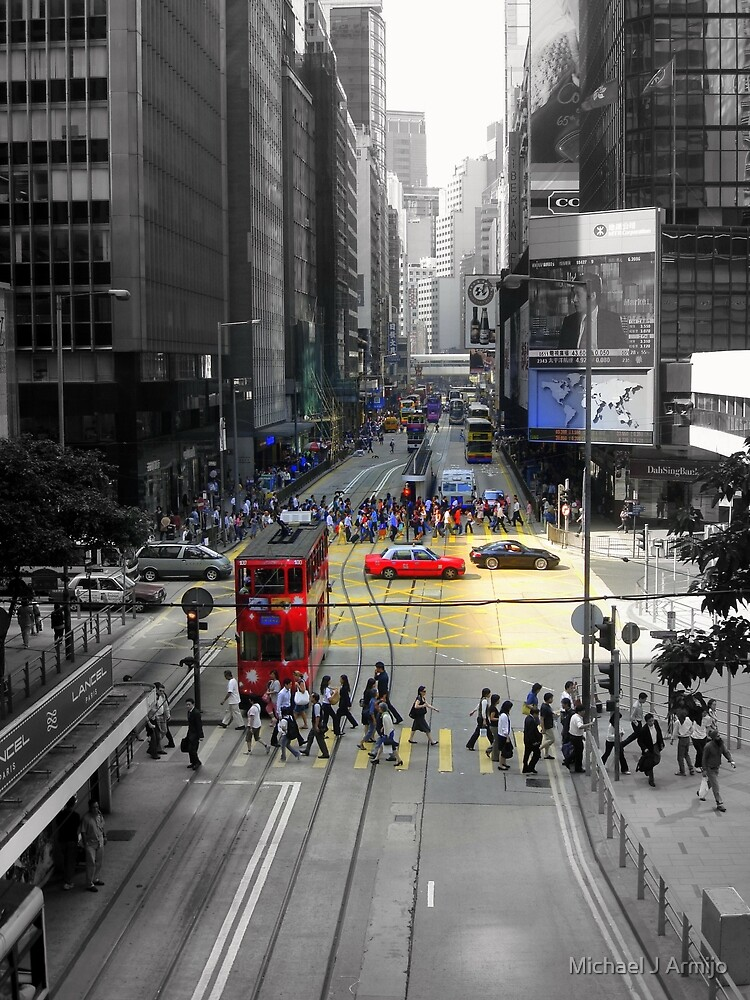 Hong Kong Urban by Michael J Armijo