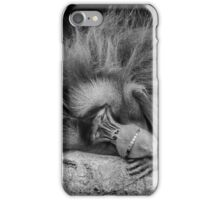 Eighties Hair Band Monkey after the groupies have left. iPhone Case/Skin