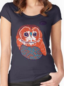 Hoo Women's Fitted Scoop T-Shirt