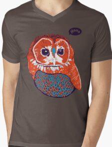 Hoo Mens V-Neck T-Shirt