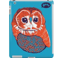 Hoo iPad Case/Skin