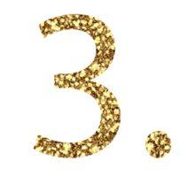 13.1 Half Marathon Run Sprakly Gold Sticker