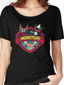 Monsters Women's Relaxed Fit T-Shirt