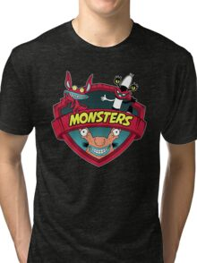 Monsters Tri-blend T-Shirt