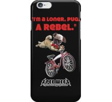 Rebel Pee Wee iPhone Case/Skin