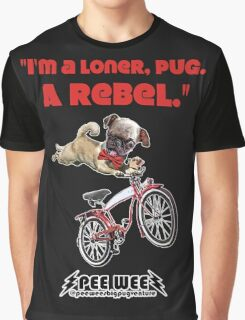 Rebel Pee Wee Graphic T-Shirt