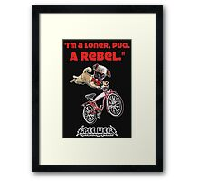 Rebel Pee Wee Framed Print