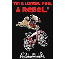 Rebel Pee Wee Photographic Print