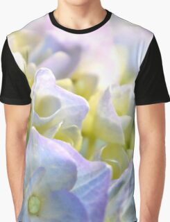 Spring Hydrangeas Graphic T-Shirt