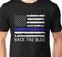 Back The Blue Thin Blue Line Unisex T-Shirt