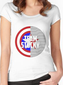 Team Stucky Women's Fitted Scoop T-Shirt