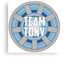 Team Tony Canvas Print