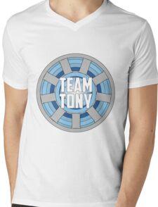 Team Tony Mens V-Neck T-Shirt