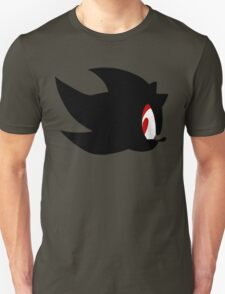 Shadow the hedgehog silhouette  Unisex T-Shirt