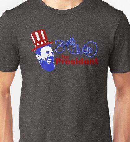 Scott Avett for President Unisex T-Shirt