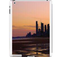 Coastline Silhouette iPad Case/Skin