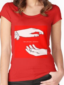 Hospice The Antlers Women's Fitted Scoop T-Shirt